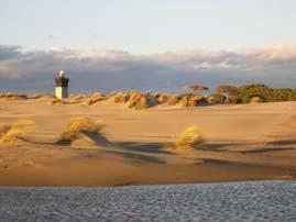 Le phare de la plage de l Espiguette
